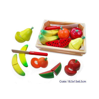 Fun Factory - Cutting Fruit Crate with Knife - CleverStuff