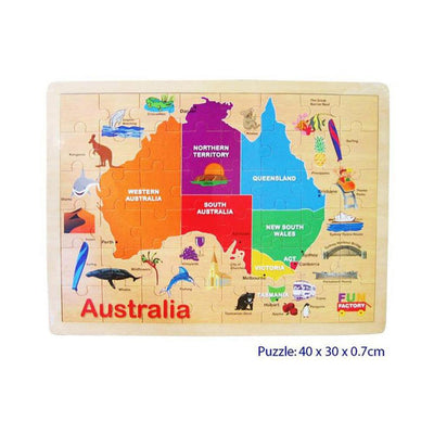Fun Factory - Australia Map Puzzle - CleverStuff