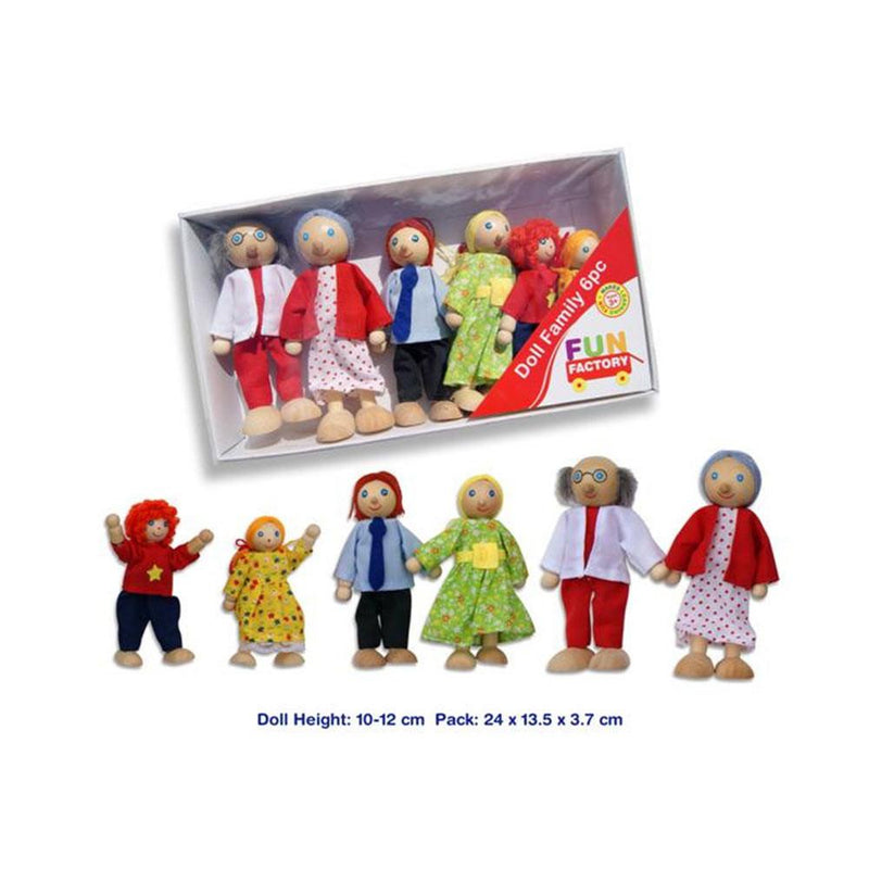 Fun Factory - Doll Family - 6 pce - CleverStuff