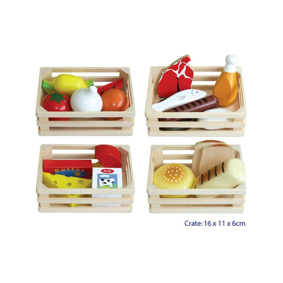 4 in 1 - Food Crates