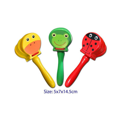 Fun Factory - Colourful Animal Castanet - CleverStuff
