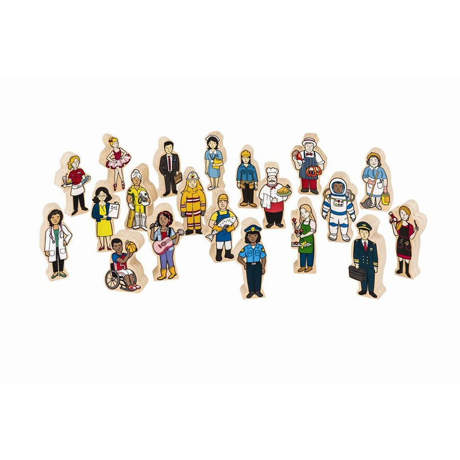 Fun Factory - Multicultural People - 20 piece - CleverStuff
