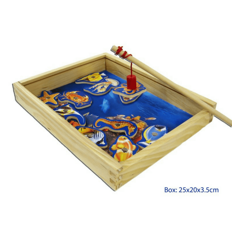 Magnetic Fishing Box Game