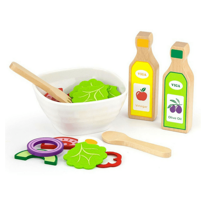 Salad Set with Recipe Card