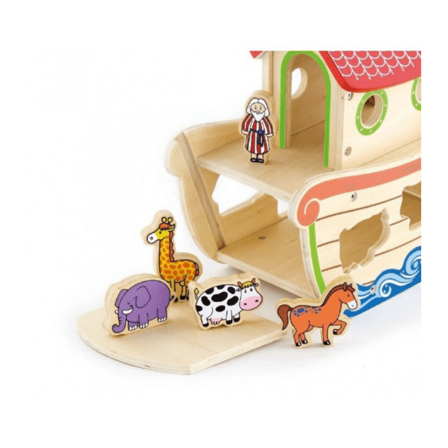 Noah's Ark Shape Sorter with Chunky Animals