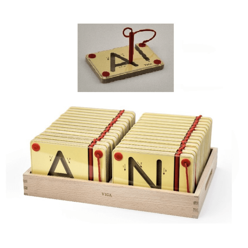 Magnetic Tracing Letters - UPPER CASE