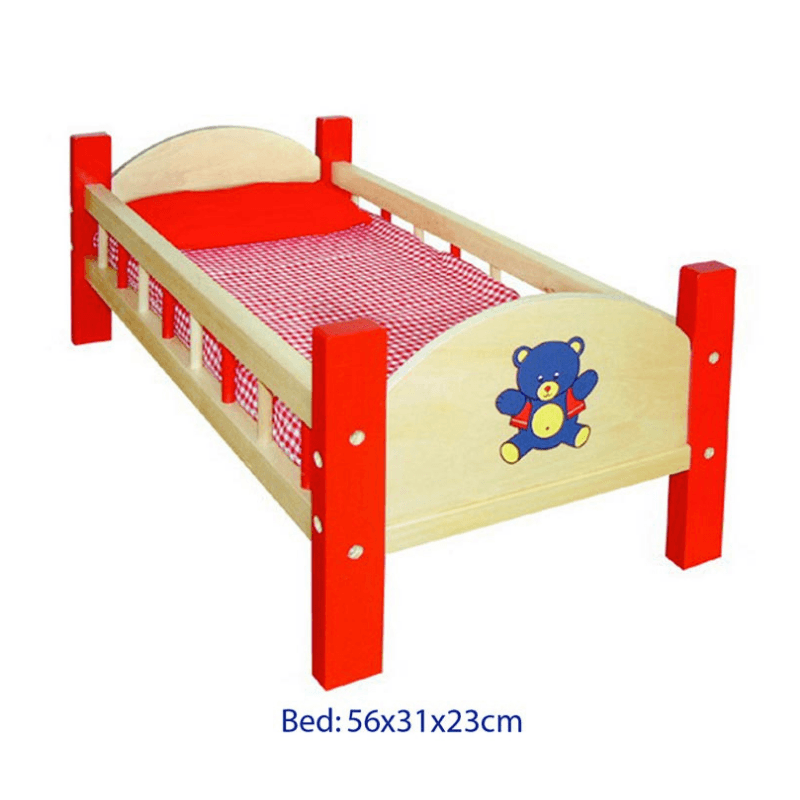 Dolls Bed - Red