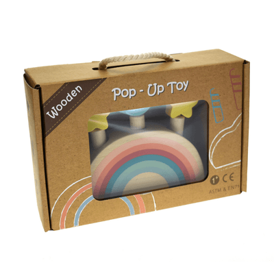 Pop Up Toy - Rainbow & Stars