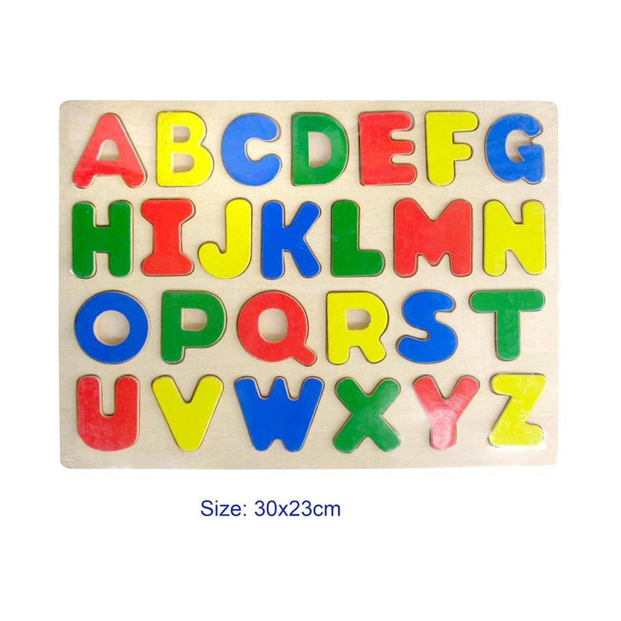 Uppercase Wooden Puzzle