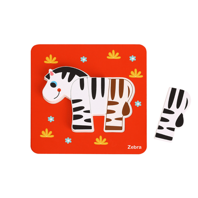 Set of 6 Animal Puzzles