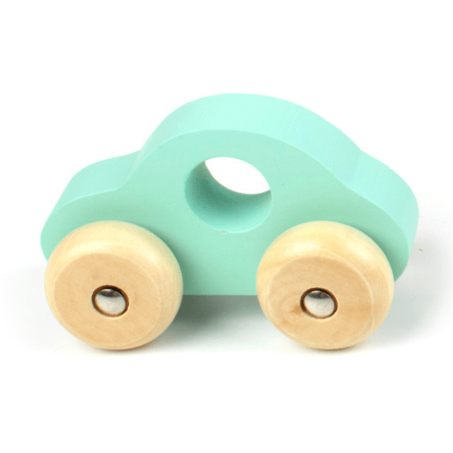 Push Along Wooden Car