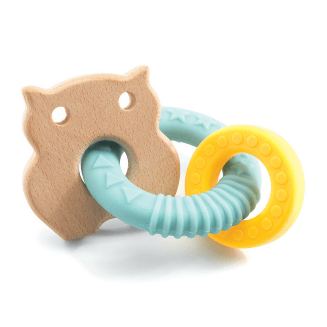 BabyBobi Wooden Teething Ring