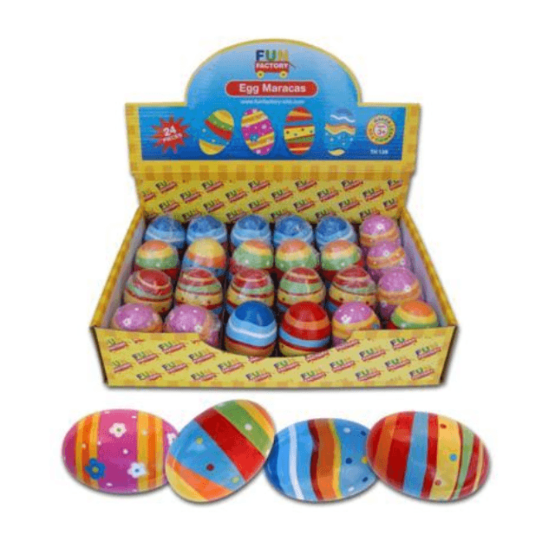 Colourful Egg Shaker Maraca