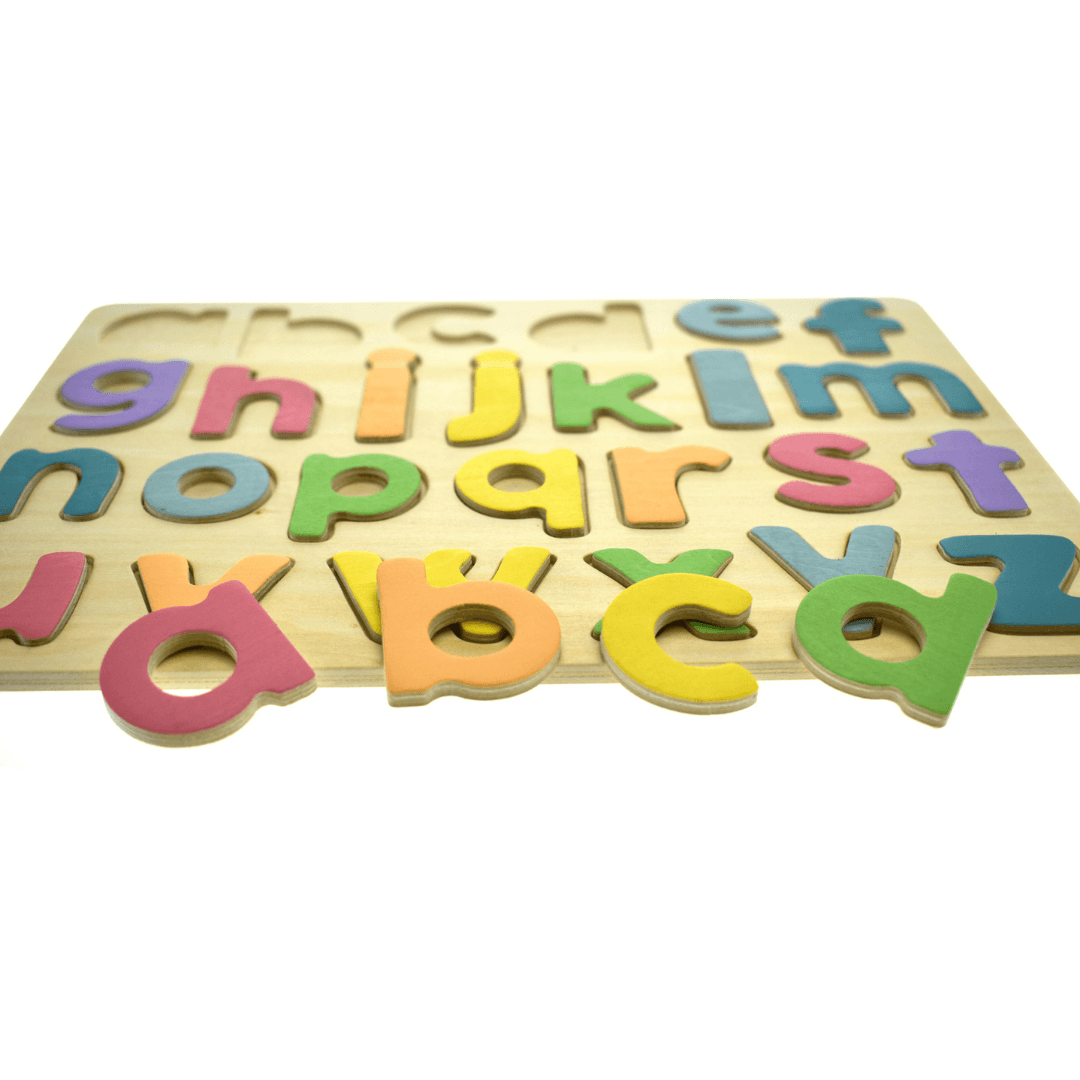 Colourful Lower Case Alphabet Puzzle