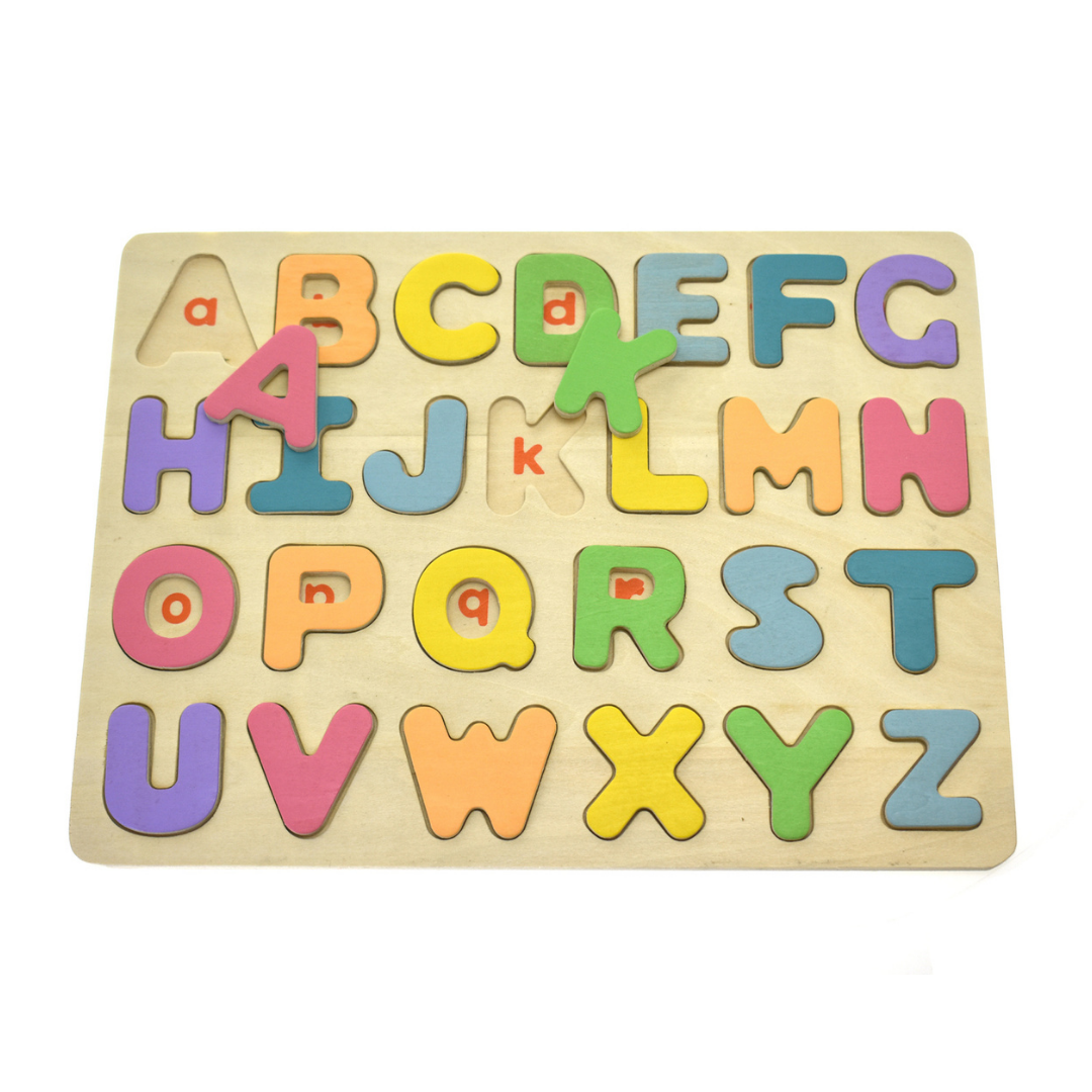 Colourful Upper Case Alphabet Puzzle