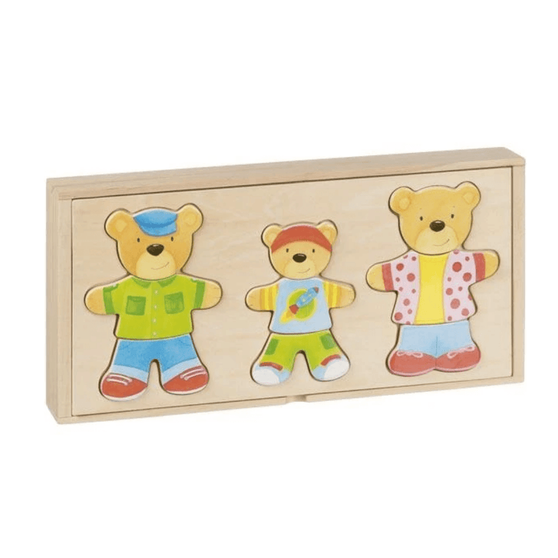 Dress Up Bear Family
