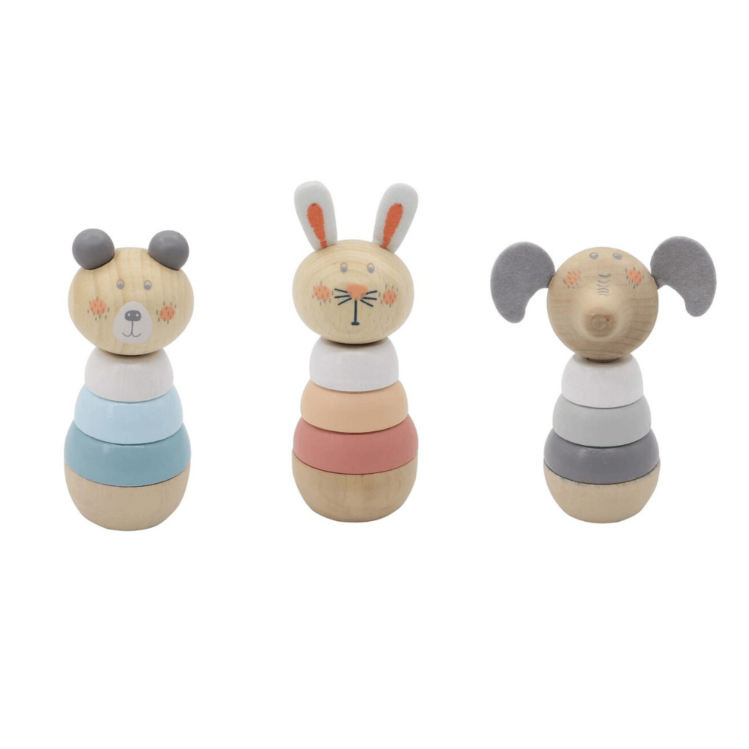 Pastel Animal Stacking Toy
