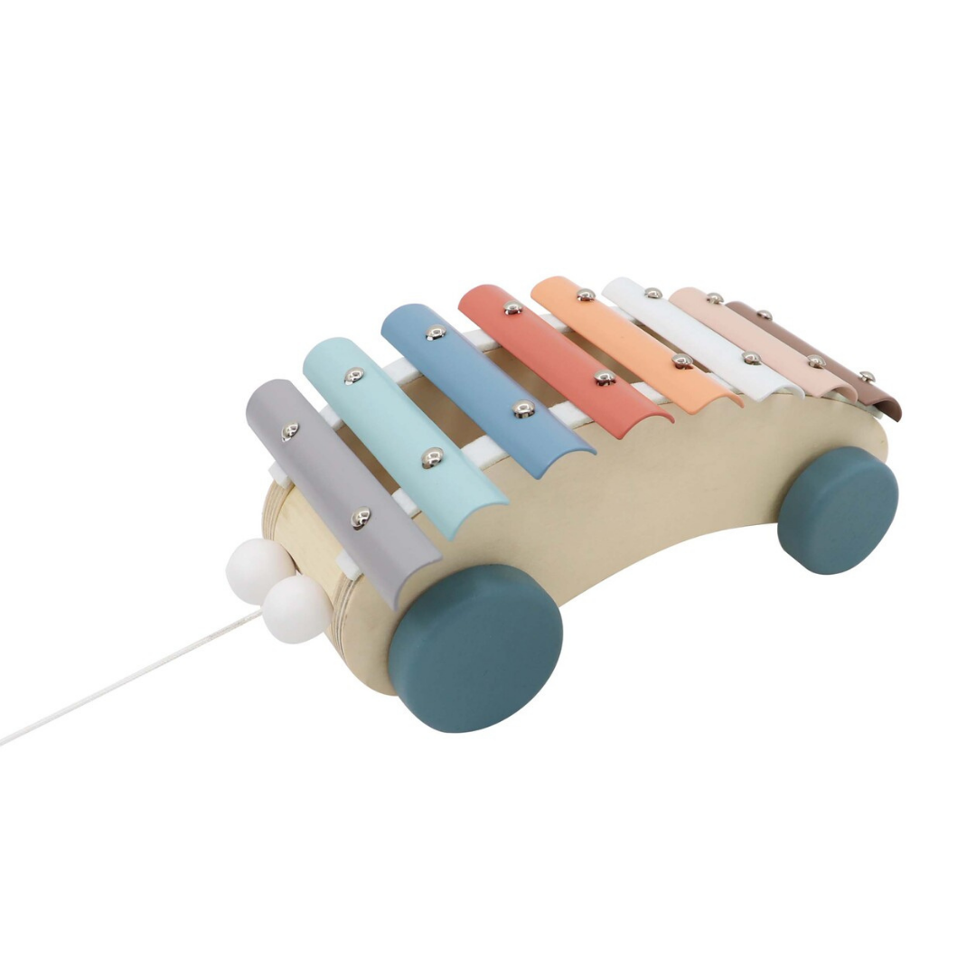 Pull Along Pastel Xylophone