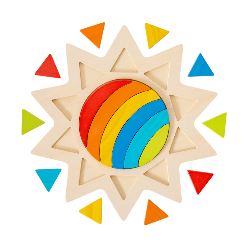 Rainbow in the Sun Puzzle