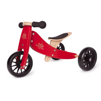 Wooden Tiny Tot Trike - Cherry Red