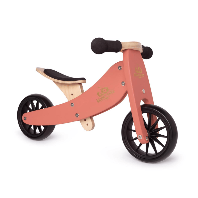 Wooden Tiny Tot Trike - Coral