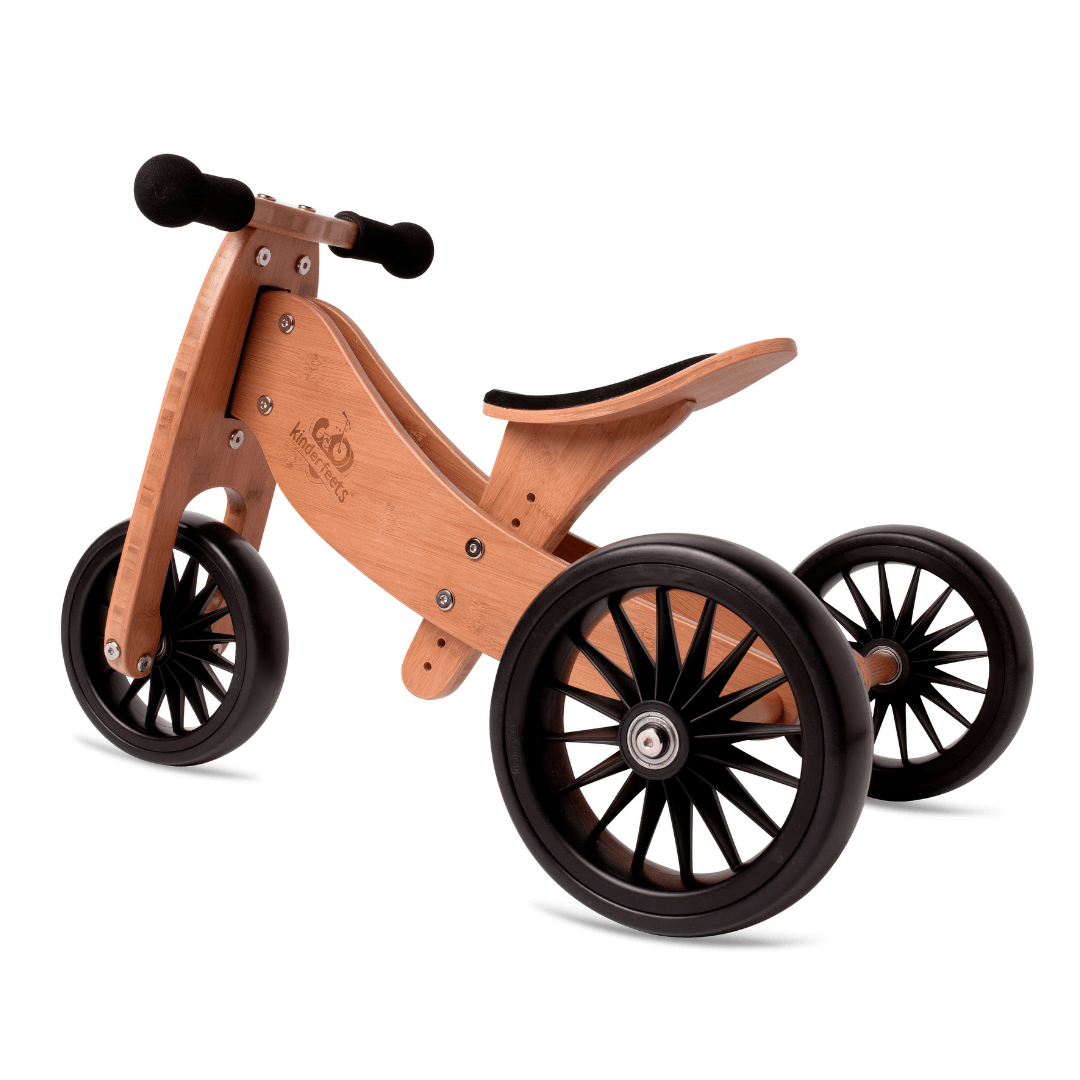 Wooden Tiny Tot PLUS Trike - Bamboo