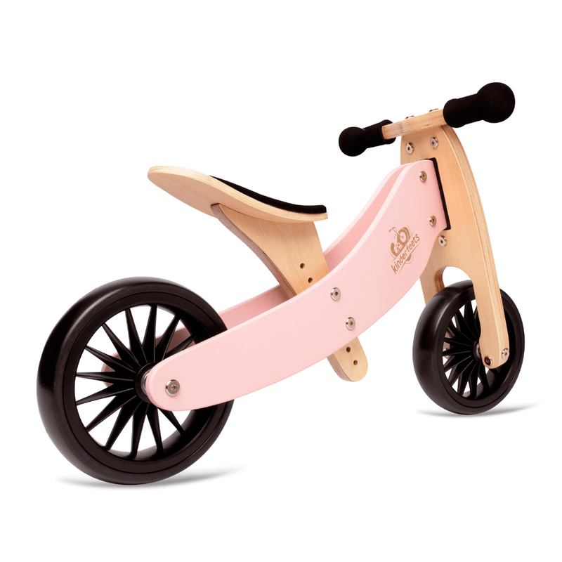 Wooden Tiny Tot PLUS Trike - Rose Pink