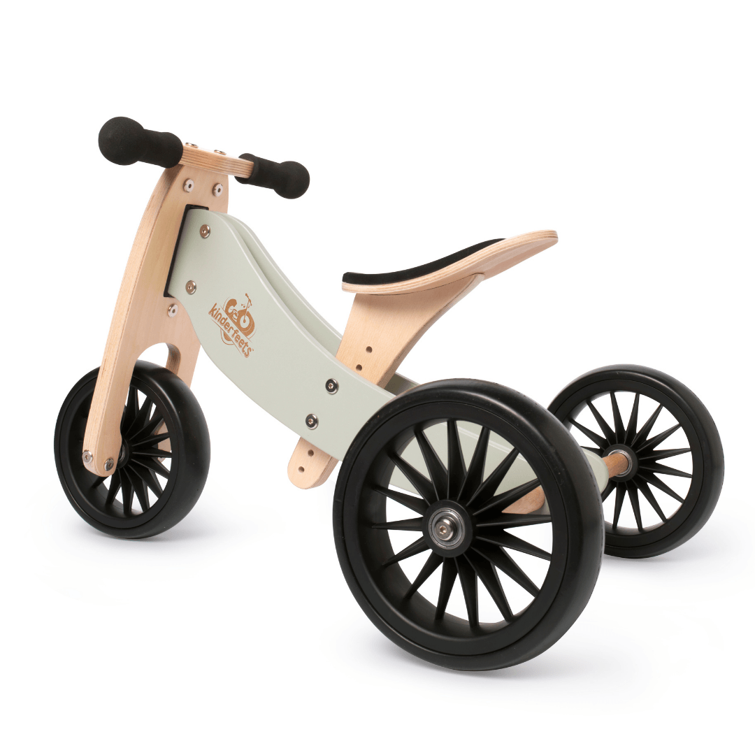 Wooden Tiny Tot PLUS Trike - Silver Sage
