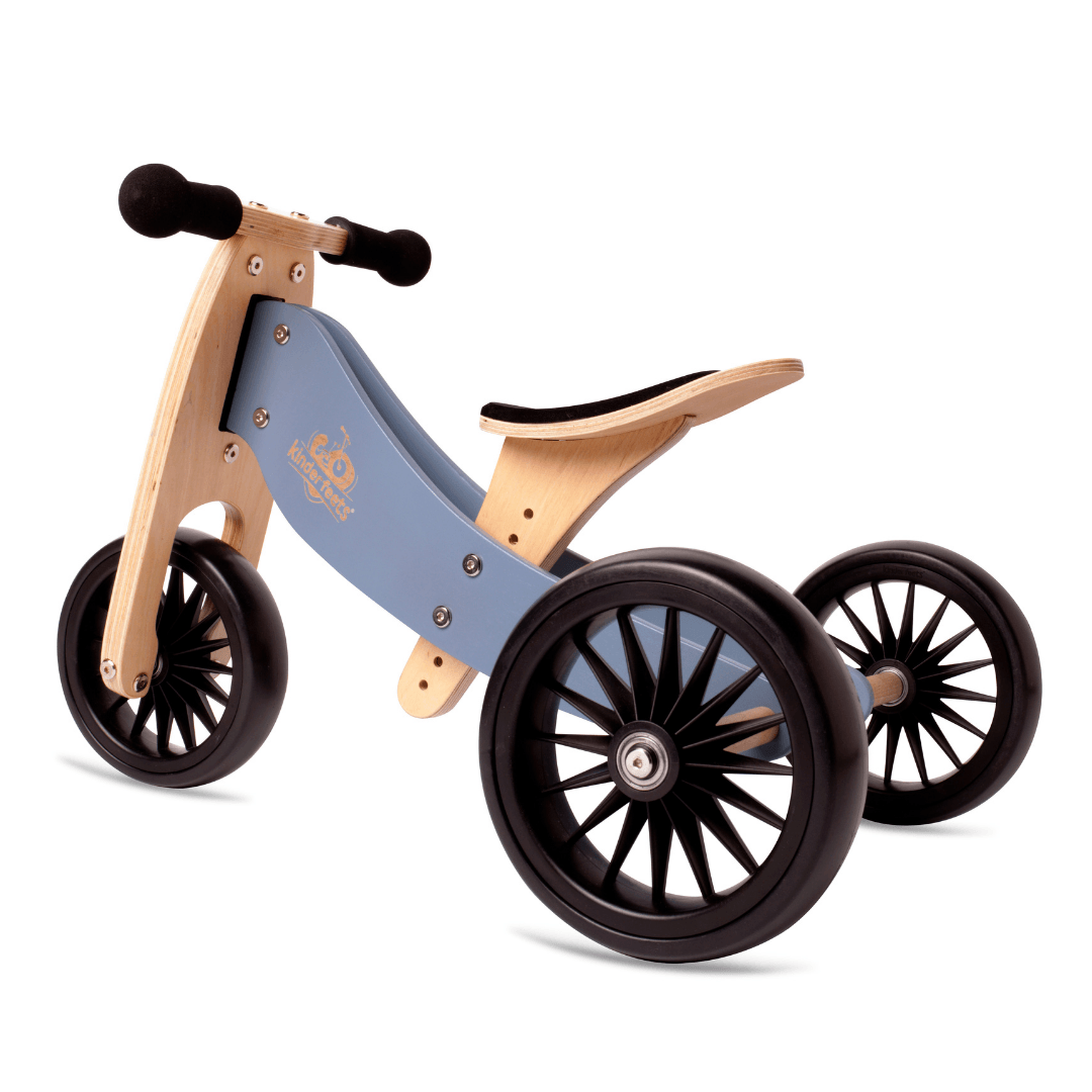 Wooden Tiny Tot PLUS Trike - Slate Blue