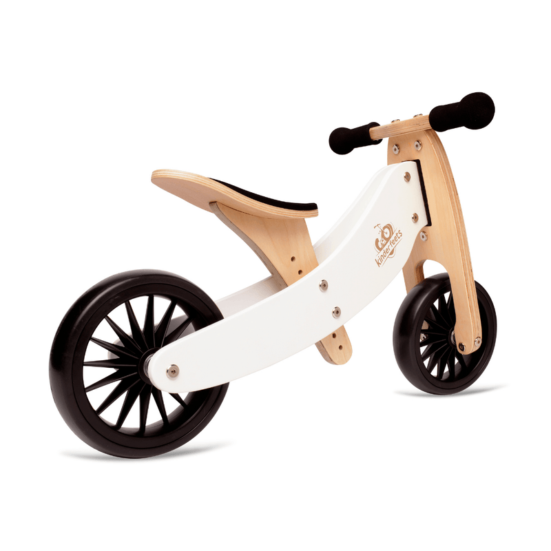 Wooden Tiny Tot PLUS Trike - White