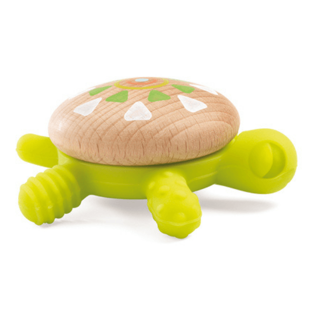 Wooden Torti Turtle Teether