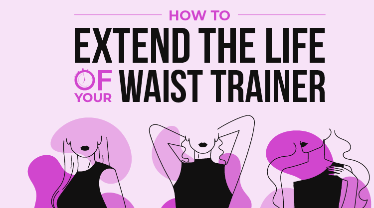 How to Extend the Lifespan of your Waist Trainer - Infographic