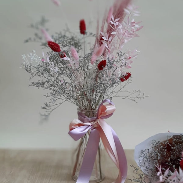 Mother's Day dried flower posy