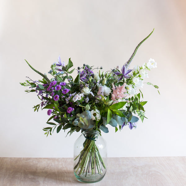 From the Garden - Rose and Ammi Flowers Edinburgh florist