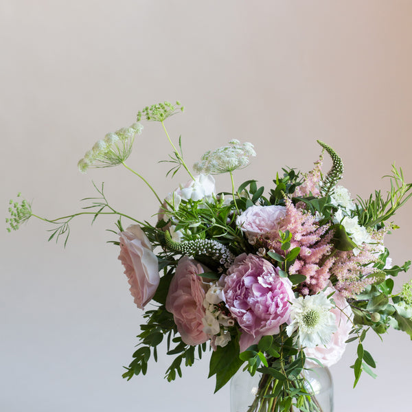 Delicate & Pretty - Rose and Ammi Flowers Edinburgh florist