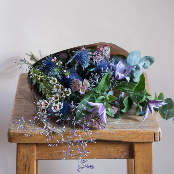 Posy - Rose and Ammi Flowers Edinburgh florist