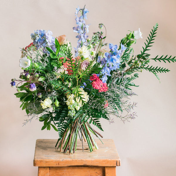 Design Your Own - Rose and Ammi Flowers Edinburgh florist