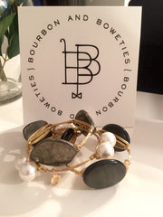 Bourbon & Boweties Bangles Medium Stone
