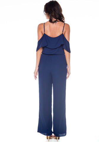 You're Everything Navy Jumpsuit