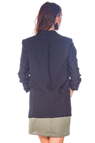 Taking Care Of Business Black Blazer
