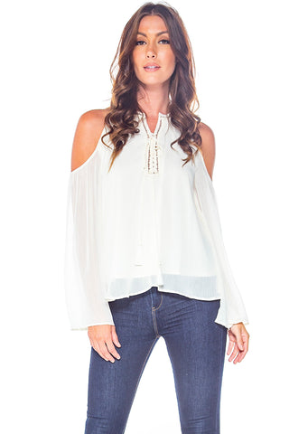 Creme De La Creme Long Sleeve Top