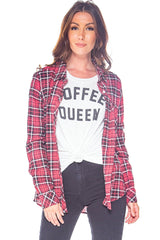 Coffee Queen Graphic Tee