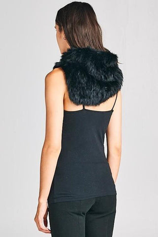 Fur Real Rabbit Fur Neck Warmer/Scarf