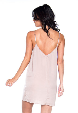 Perfect Illusion Satin Slip Dress