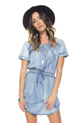 No Time For The Blues - Denim Dress