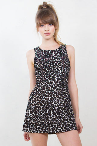 On The Prowl Leopard Dress