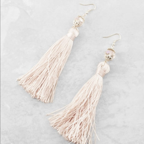 The Tassel At Hand Earrings *Back In Stock*