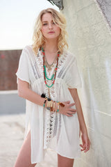 Boho Beach Bae Cover Up/Tunic