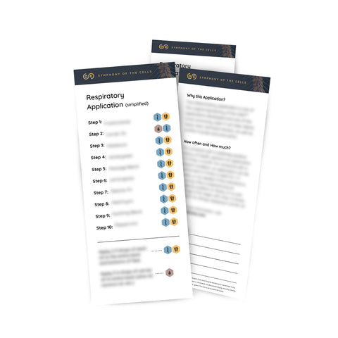 Respiratory Application Pass-a-long Card - Pack of 5
