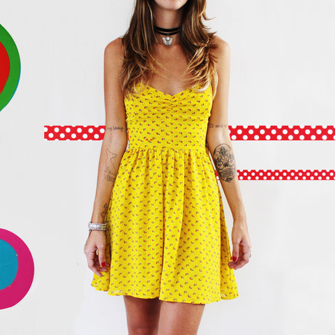 Vestido let the sun shine